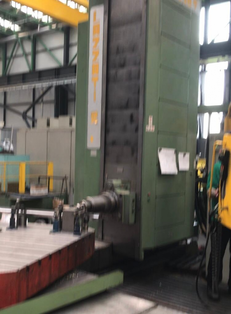 ALESATRICE CNC LAZZATI  HB130 T - Foto integrale macchina