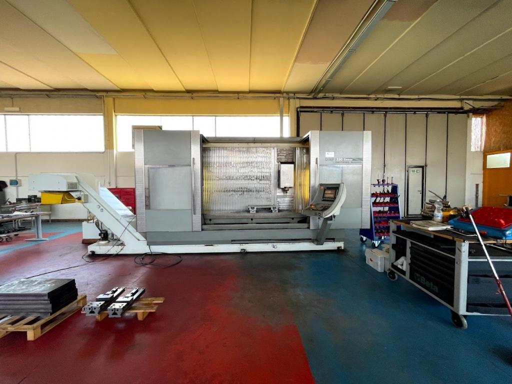 Centro Di Lavoro A Montante Mobile DMG DMF 220 Linear