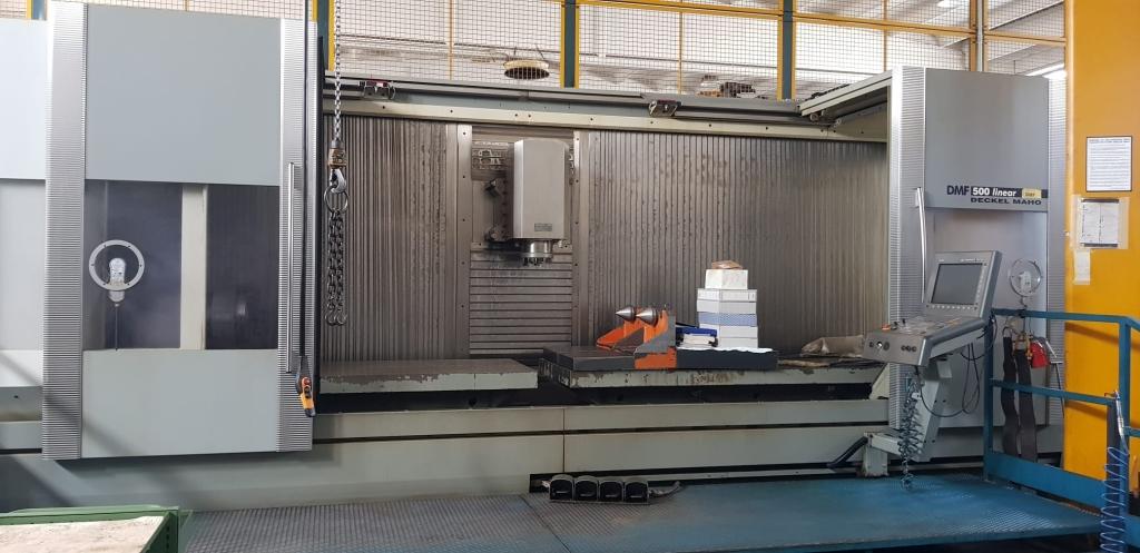 Centro Di Lavoro A Montante Mobile DMG DMF 500 Linear