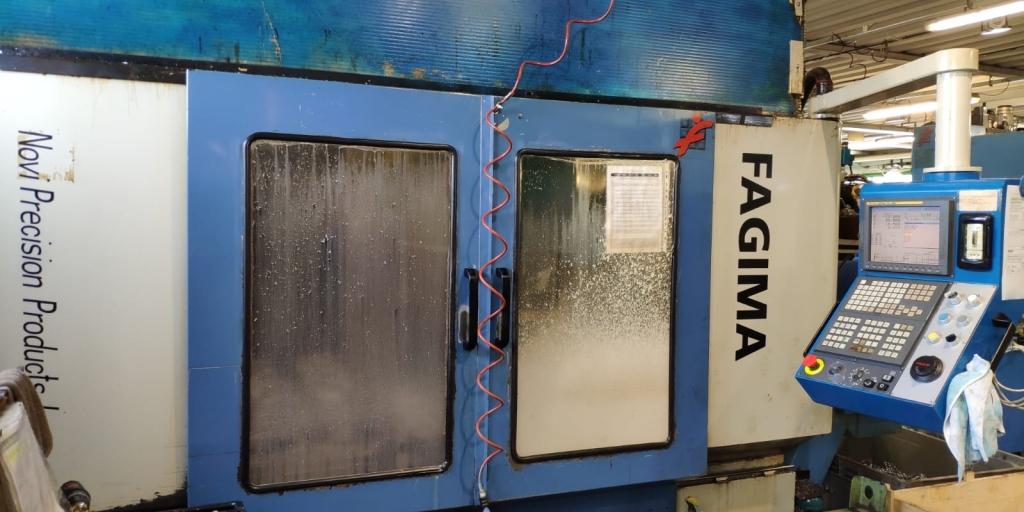 Centro di lavoro a montante mobile Fagima Fast 160/200 - 1999 - Foto integrale macchina