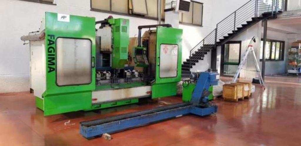 Centro di lavoro a montante mobile Fagima Fast 160/200 - 2007 - Foto integrale macchina