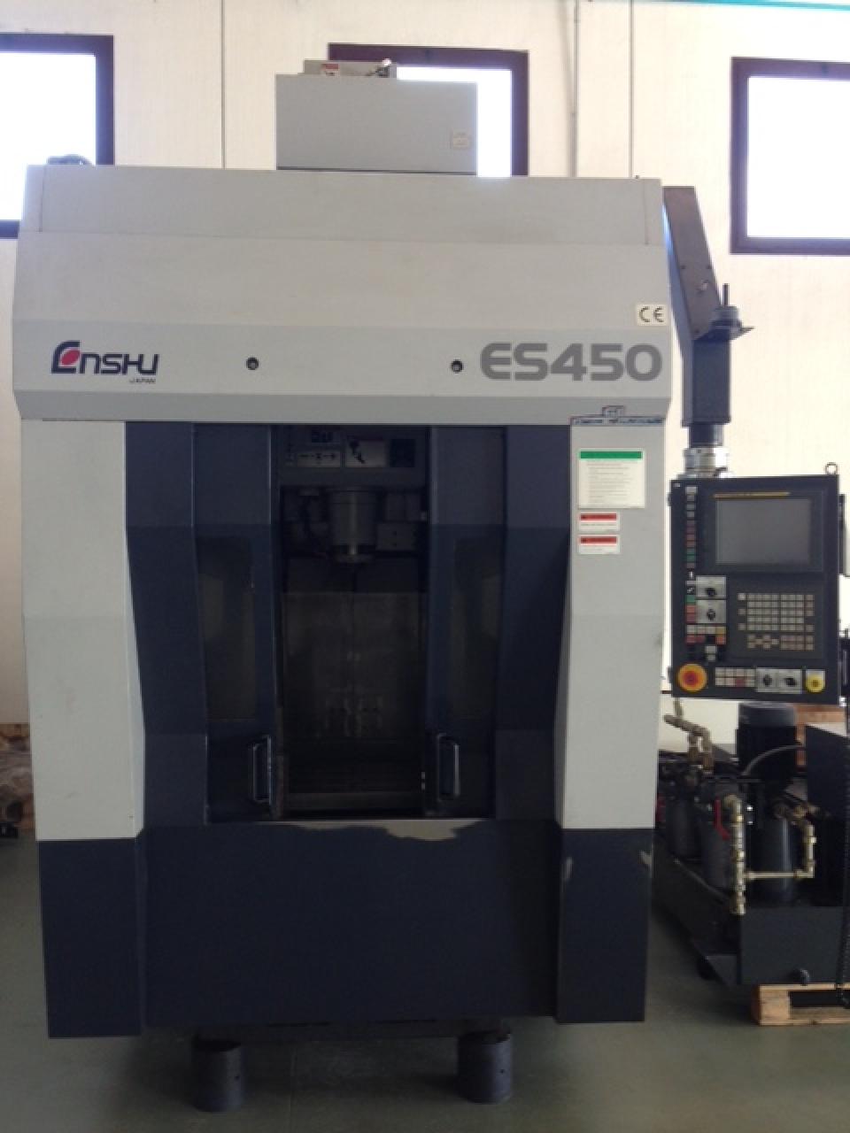Centro di lavoro a portale ENSHU ES 450 - Foto integrale macchina