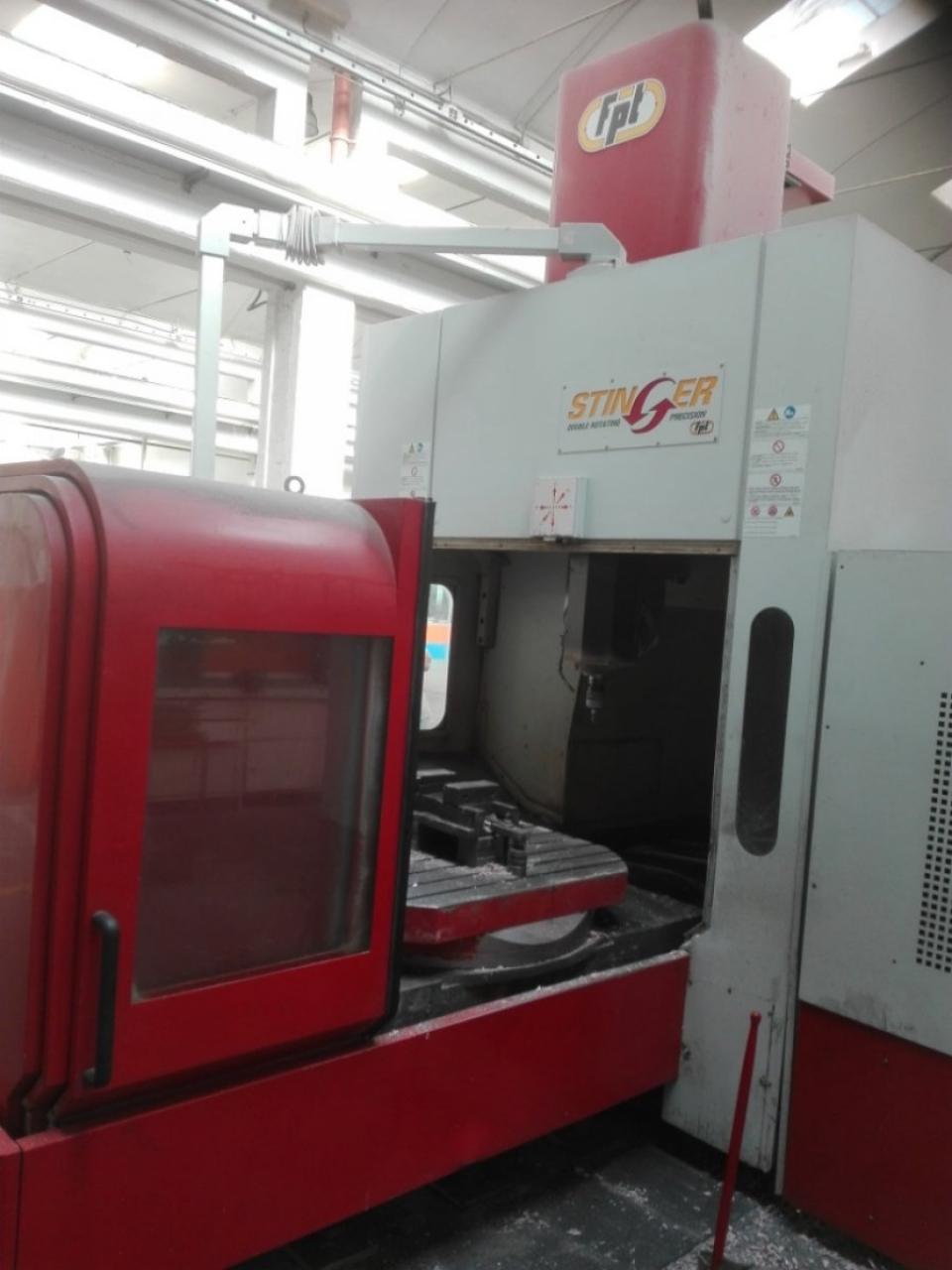 Centro di lavoro a portale FPT STINGER - Foto integrale macchina