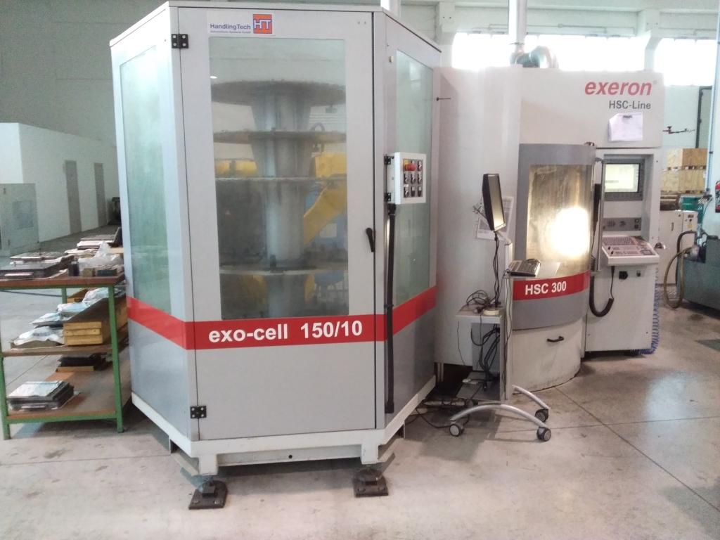 Centro di lavoro Digma exeron HSC 300 - Foto integrale macchina