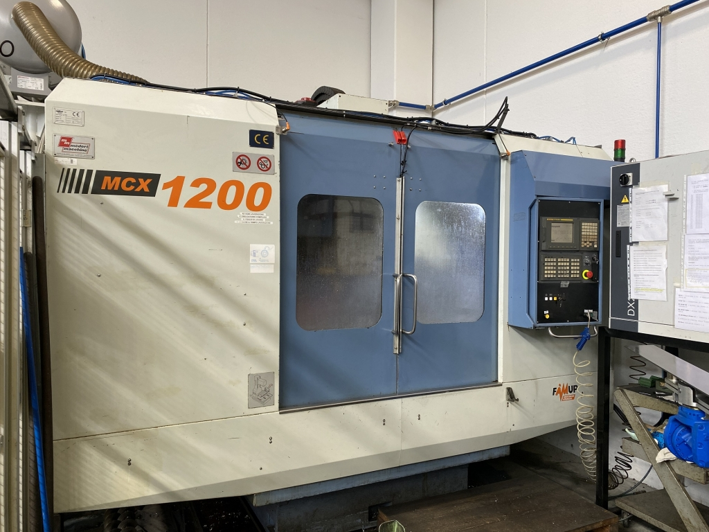 centro di lavoro FAMUP MCX 1200 - Foto integrale macchina