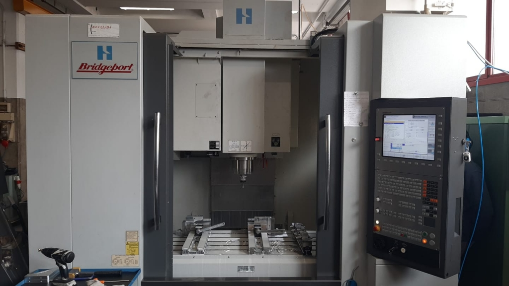 Centro di lavoro Hardinge Conquest V1000 - Foto integrale macchina