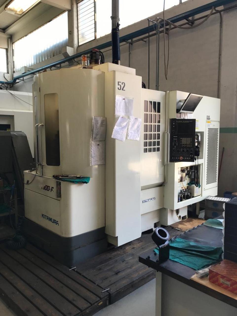Centro di lavoro orizzontale KITAMURA HX 300 i - Foto integrale macchina