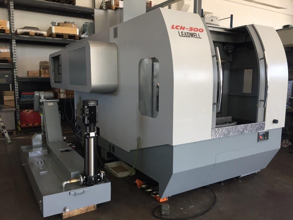 Centro di lavoro orizzontale Leadwell LCH 500 - Foto integrale macchina