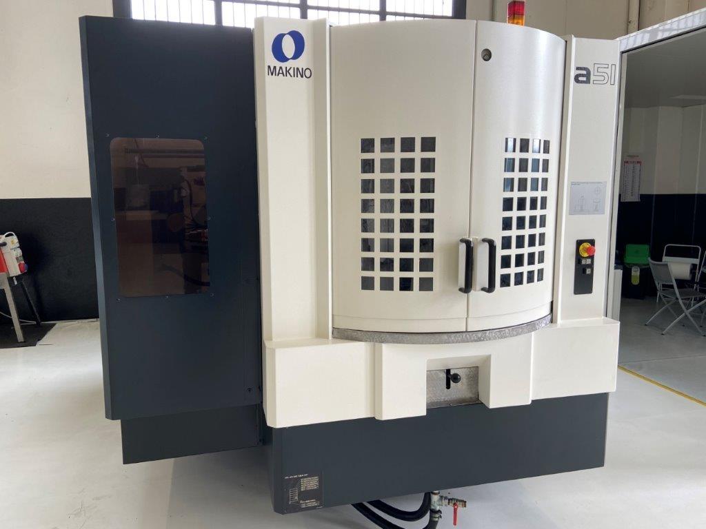 Centro di lavoro orizzontale Makino A51 - Foto integrale macchina