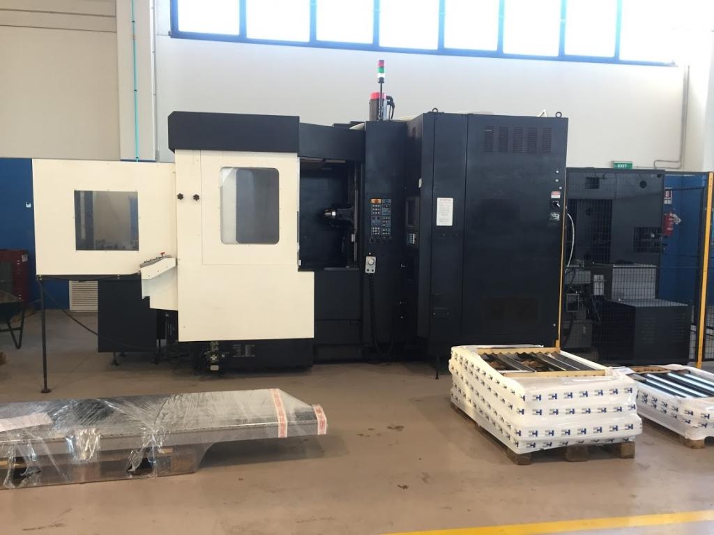 Centro di lavoro orizzontale MAKINO  MC 86 - Foto integrale macchina