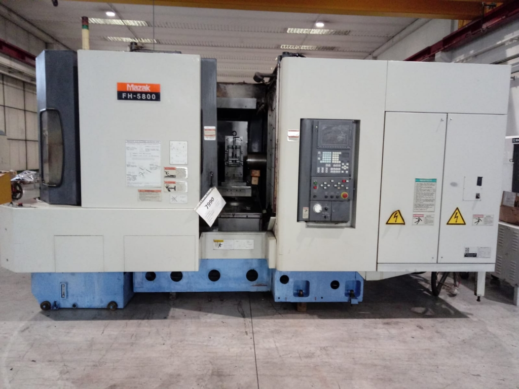 Centro di lavoro orizzontale  Mazak FH-5800 - Foto integrale macchina