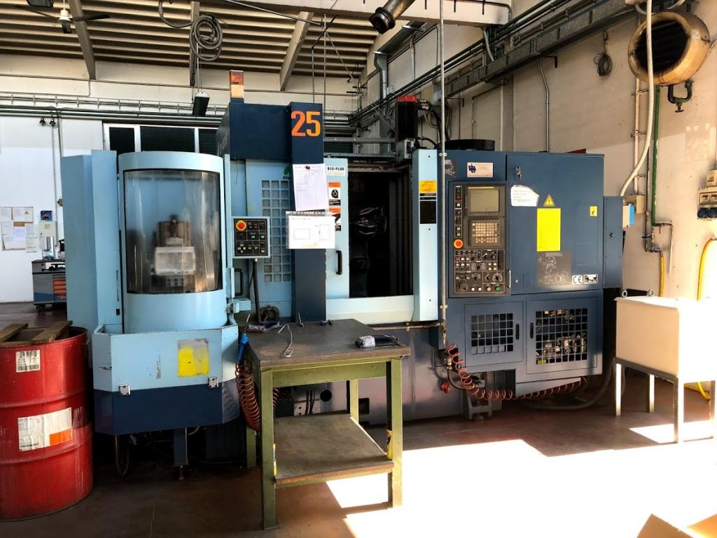 Centro di lavoro orizzontale multipallet MATSUURA ES-450 H II PLUS - Foto integrale macchina