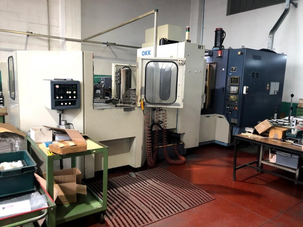 Centro di lavoro orizzontale multipallet OKK HM40 - Full machine photo