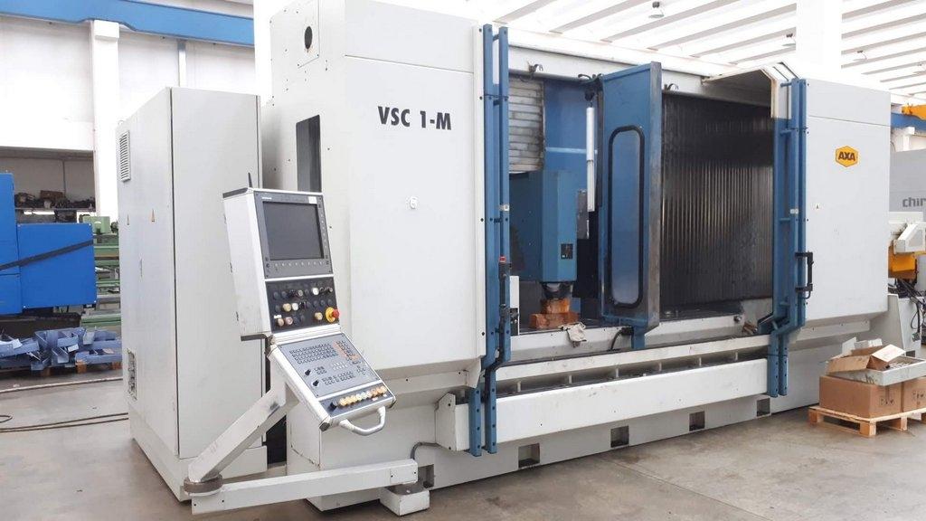 Centro Di Lavoro Verticale A Montante Mobile AXA VSC 1-M