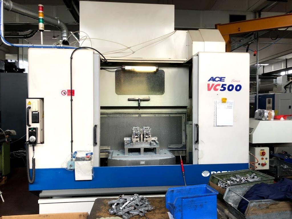 Centro Di Lavoro Verticale Rotopallet DAEWOO ACE VC500
