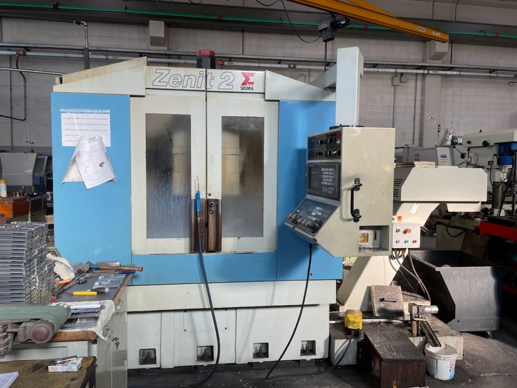 Centro di lavoro verticale Sigma Zenit 2 - Foto integrale macchina