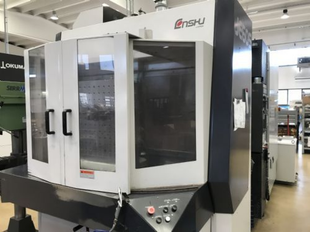 Centro orizzontale Enshu JE60S - Foto integrale macchina