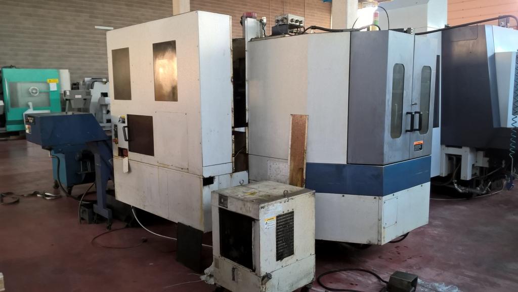 CENTRO ORIZZONTALE MORISEIKI SH 400 - Foto integrale macchina