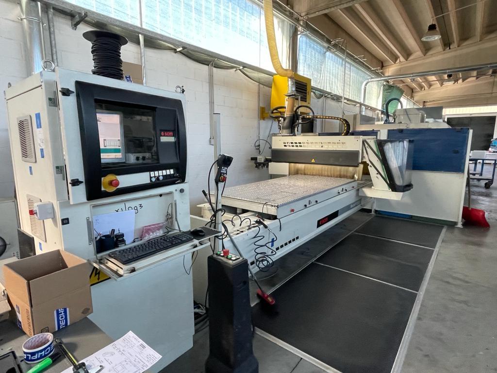 Fresatrice a portale SCM Record 110 S - Foto integrale macchina