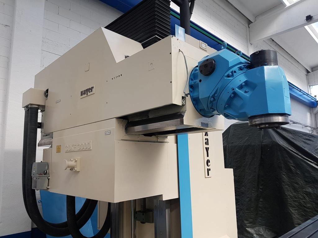 Fresatrice CNC ZAYER 30KF 3000 - Foto integrale macchina