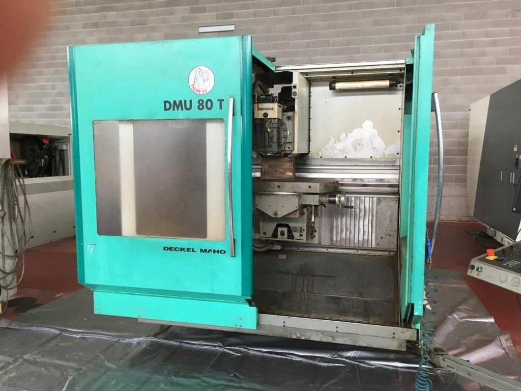Fresatrice per attrezzisti CNC DMU 80T - Foto integrale macchina