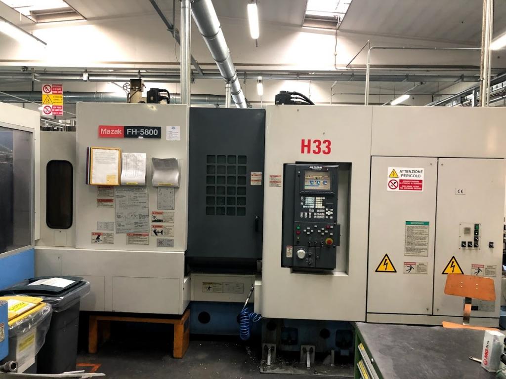 Isola di produzione Mazak FH-5800 - Full machine photo