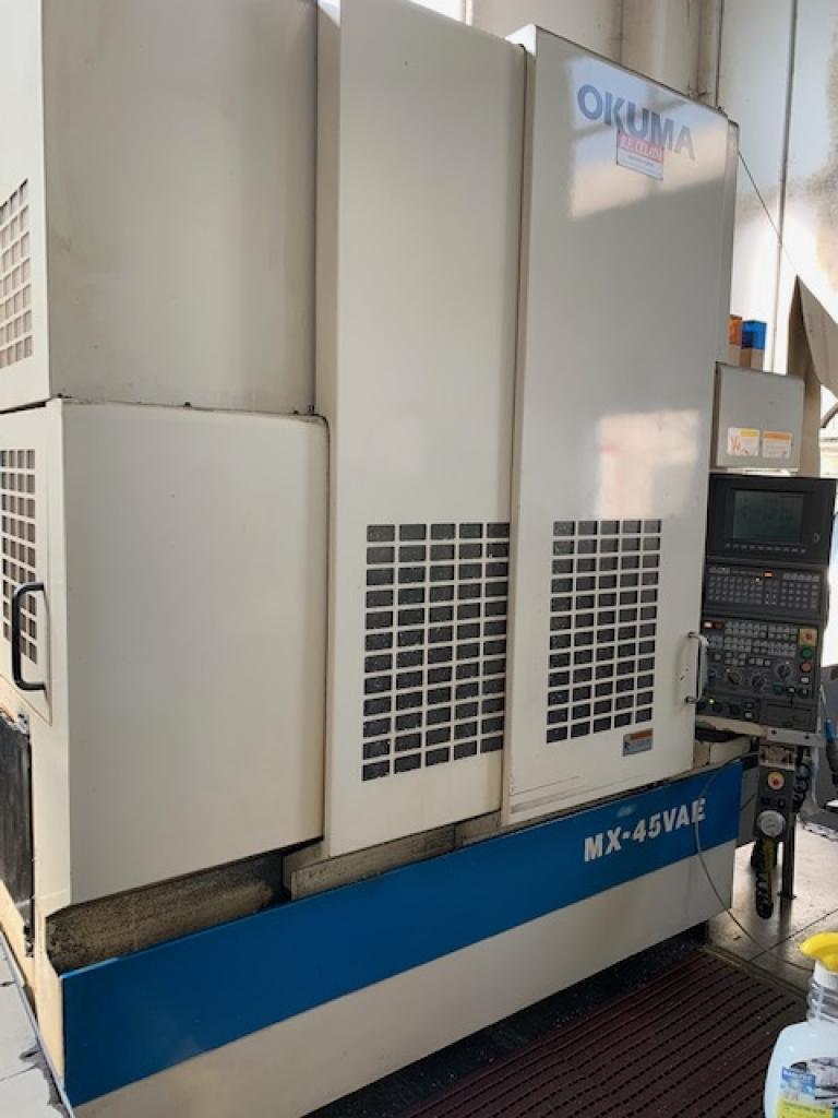 OKUMA MX 45 VAE - Foto integrale macchina