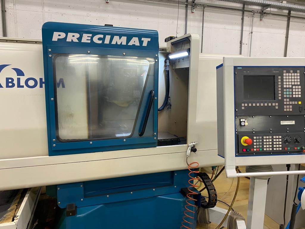 Rettifica tangenziale Blohm Precimat 306 - Foto integrale macchina