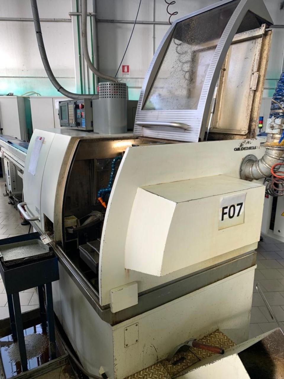 TORNIO CNC A FANTINA MOBILE GD20 - Foto integrale macchina
