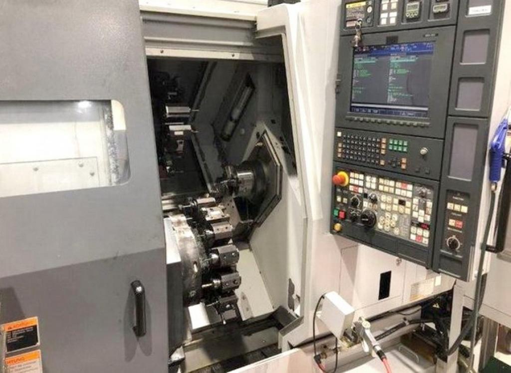 Tornio CNC con caricamento da barra Mori Seiki ZT 1500 Y - Foto integrale macchina