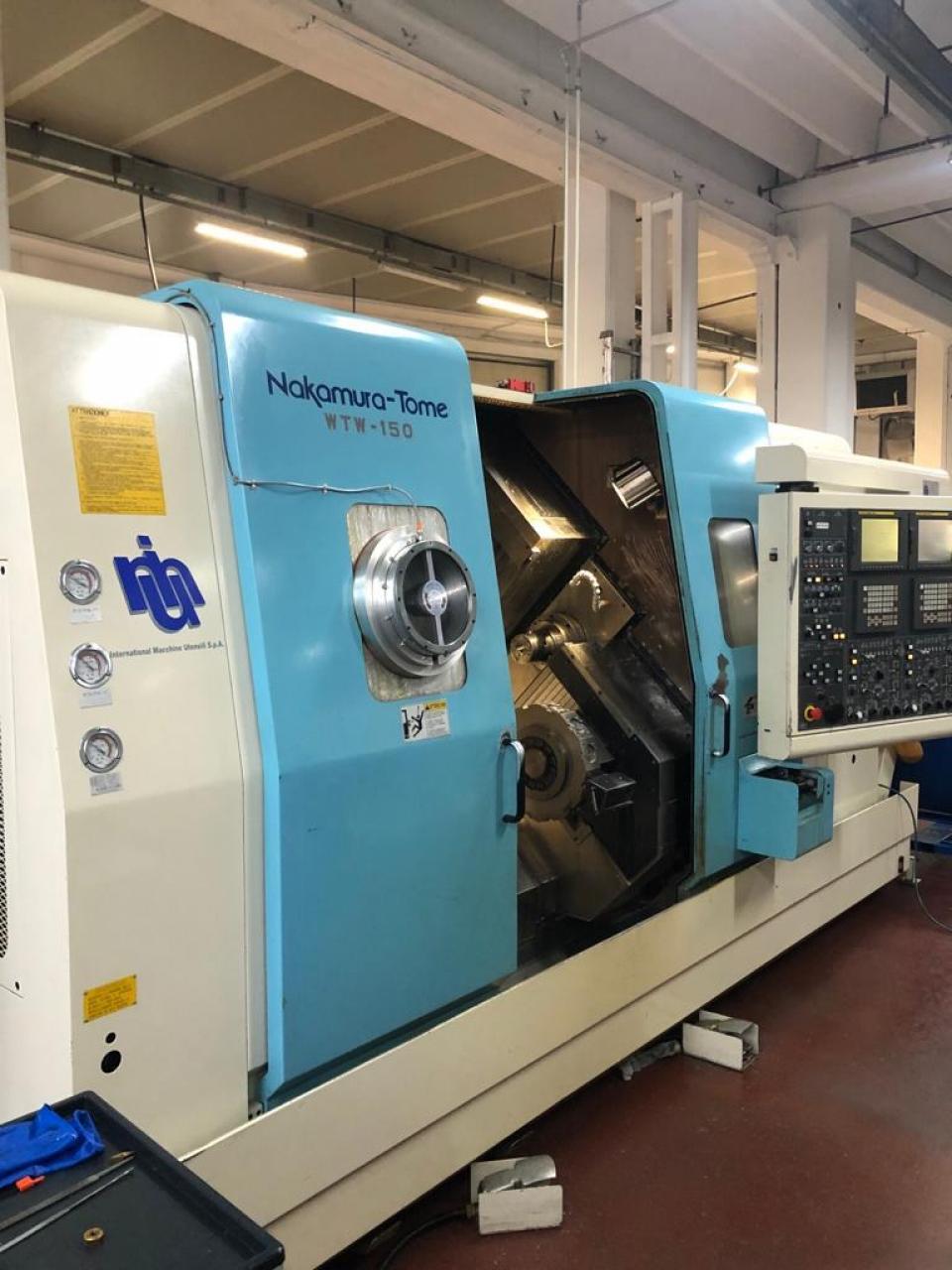 TORNIO CNC  NAKAMURA TOME WTW 150 - Foto integrale macchina