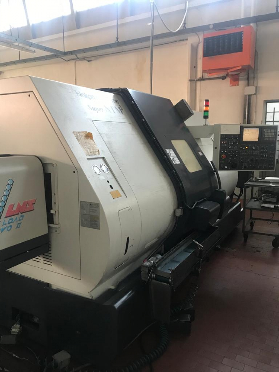 TORNIO CNC ORIZZONTALE NAKAMURA-TOME SUPER NTM3