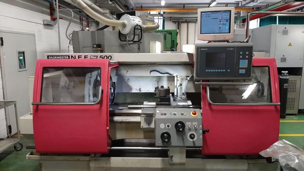 Tornio Gildemeister NEF plus 500 - Foto integrale macchina