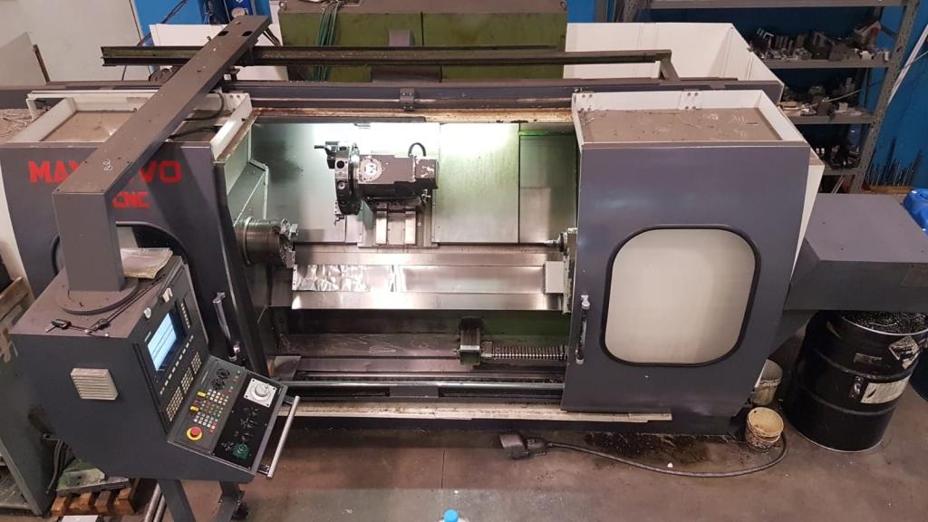 Tornio MAXNOVO 260 CNC - Foto integrale macchina