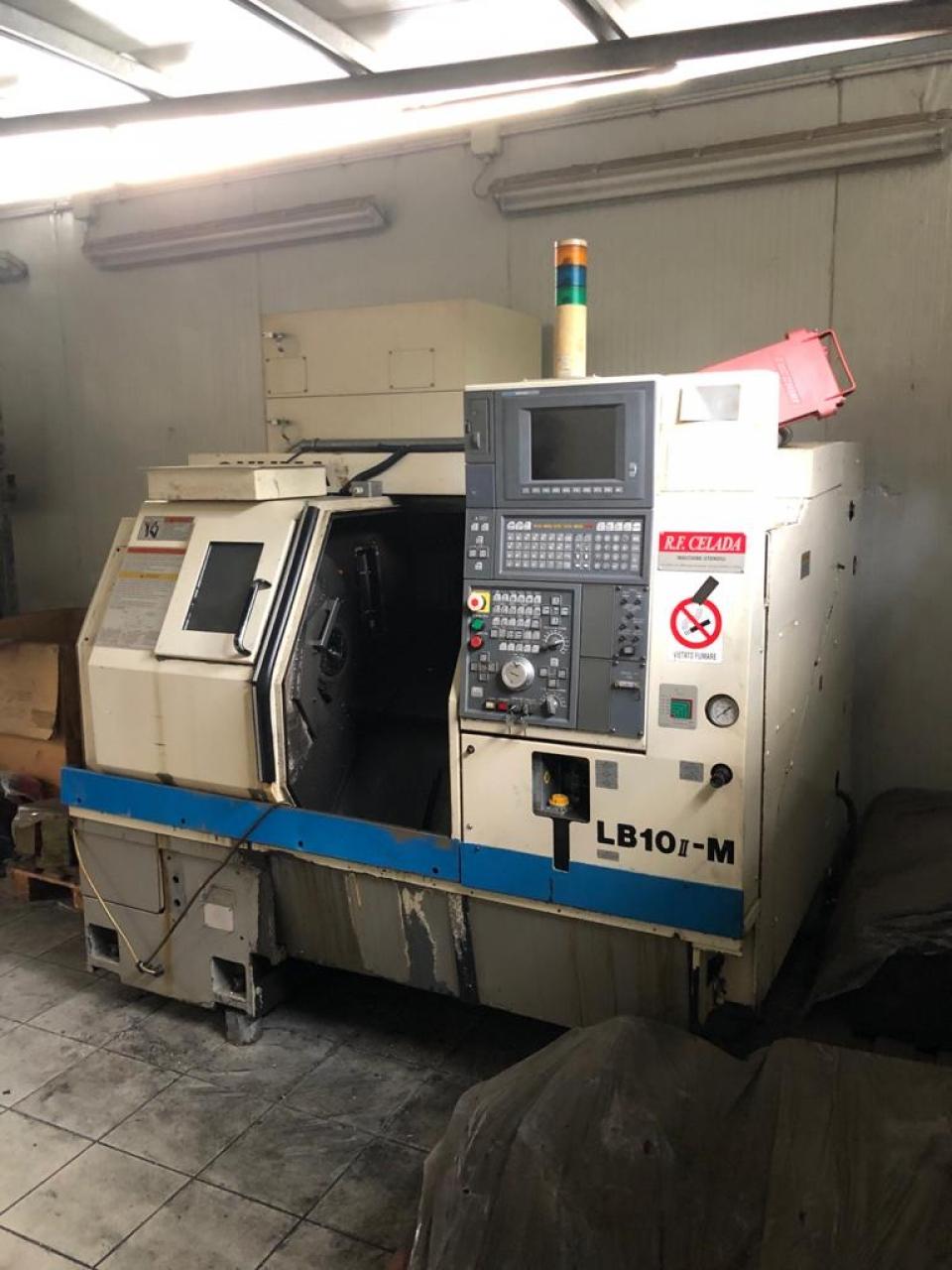 Tornio motorizzato Okuma LB 10II M - Foto integrale macchina