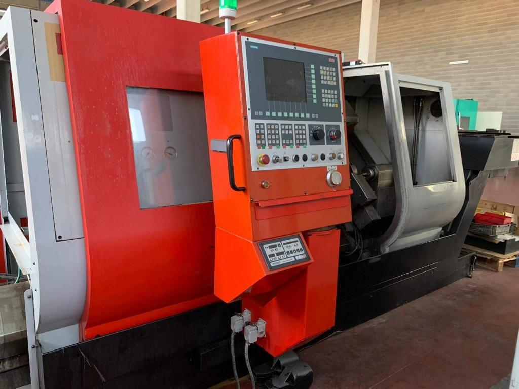 TORNIO orizzontale  CNC ASSE Y EMCO EMCOTURN ET500 1000 - Foto integrale macchina