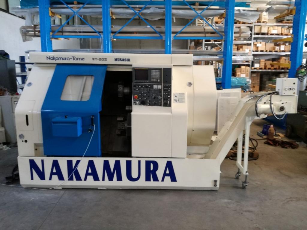 TORNIO ORIZZONTALE NAKAMURA WT 20 II - Foto integrale macchina