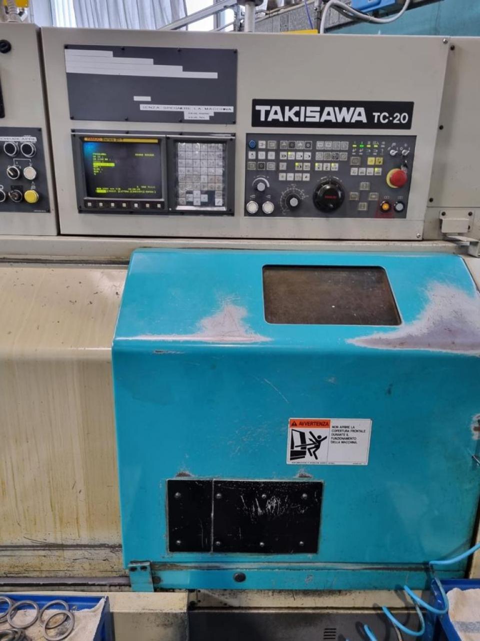 Tornio Takisawa TC20 - Foto integrale macchina